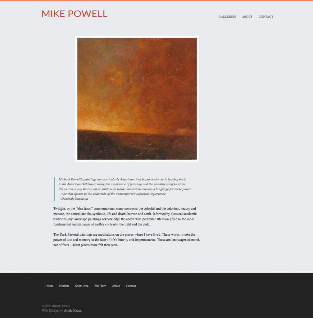 Mike Powell Art