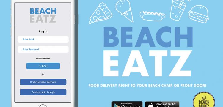 Beach Eatz App Ad